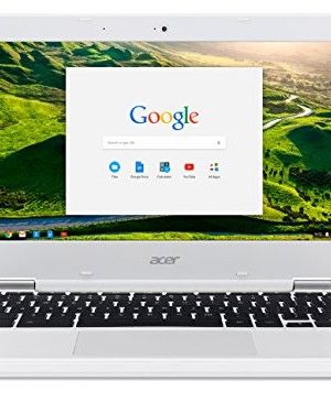Acer-Chromebook-CB3-131-C3SZ-116-Inch-Laptop-Intel-Celeron-N2840-Dual-Core-Processor2-GB-RAM16-GB-Solid-State-DriveChrome-White-0